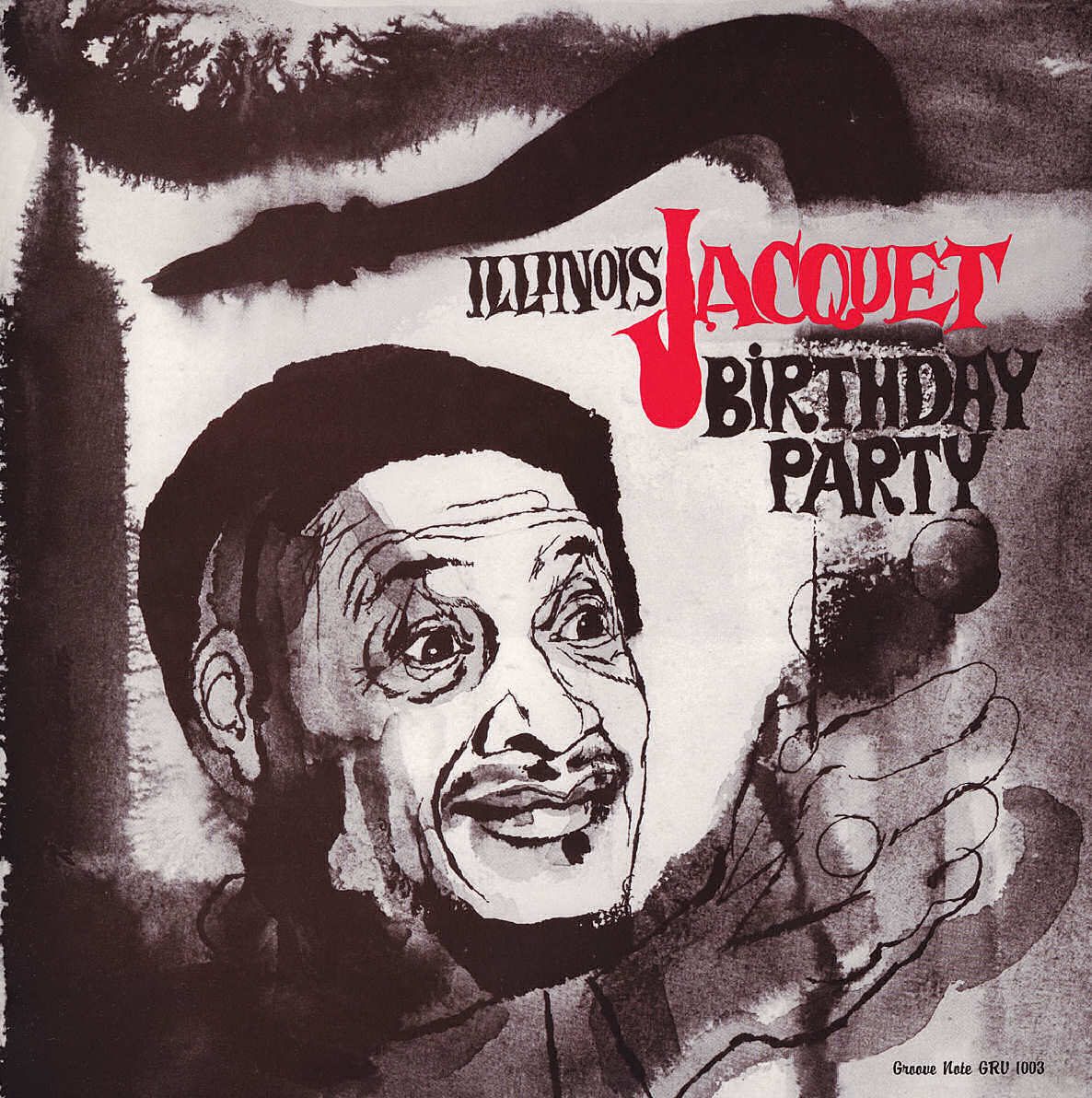 Illinois Jacquet - Birthday Party CD cover