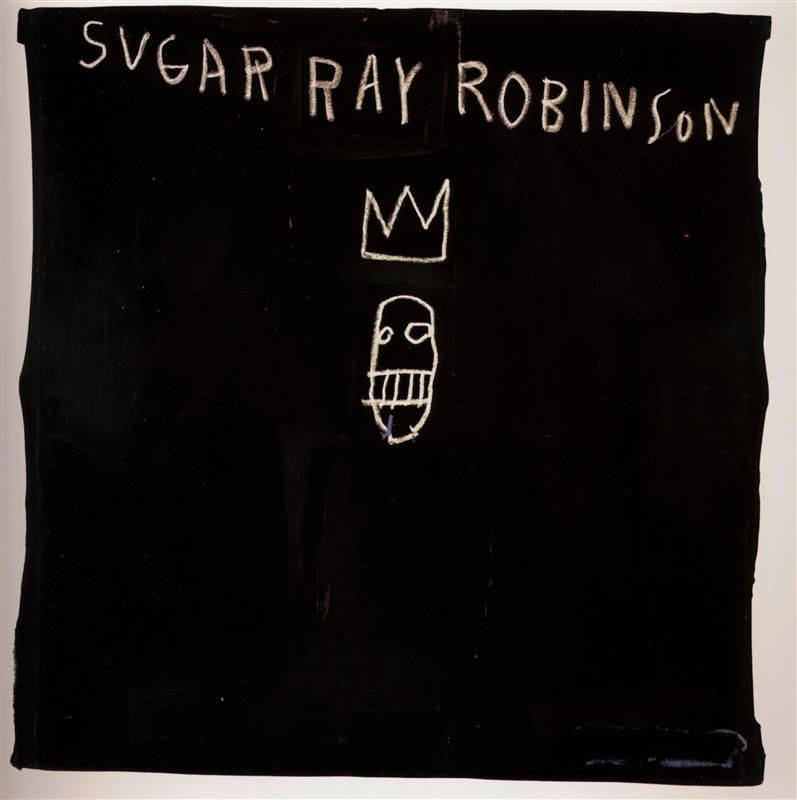 Sugar Ray Robinson, 1982 - Jean-Michel Basquiat