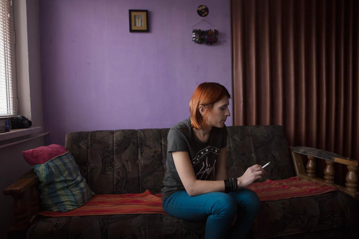 Samra - Samra, 23 years old Tuzla, March 2015 - Copyright © © S. Borcard - N. Metraux -