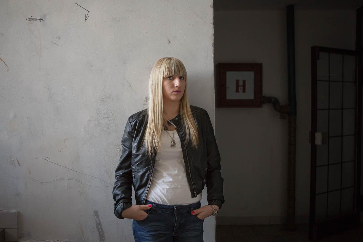 Elma - Elma, 20 years old Tuzla, March 2015 - Copyright © © S. Borcard - N. Metraux -